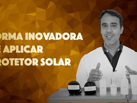Forma Inovadora de Aplicar a Quantidade Correta de Protetor Solar