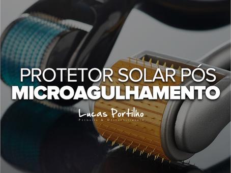 Protetor Solar Pós Microagulhamento