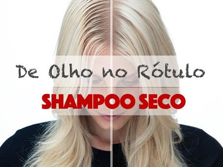 De olho no rótulo: Shampoo a seco como opção para couro cabeludo sensibilizado