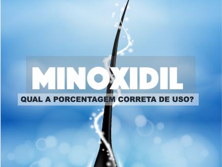Minoxidil: Qual a Porcentagem Correta de Uso?