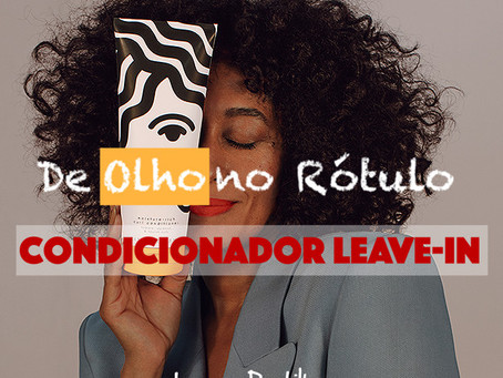 De olho no rótulo: Condicionador Leave-in Pattern