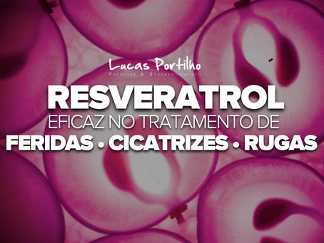 Resveratrol Eficaz em Rugas, Feridas e Cicatrizes