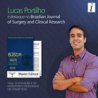 Lucas Portilho Artigo Cientifico parabenos triclosan filtro solar