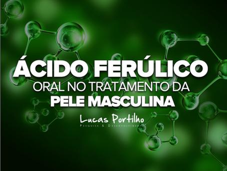 Ácido Ferúlico Oral no Tratamento da Pele Masculina