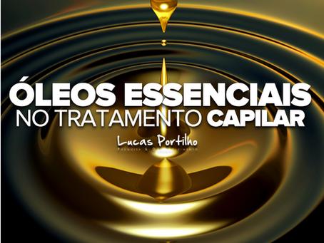 Óleos essenciais no tratamento capilar