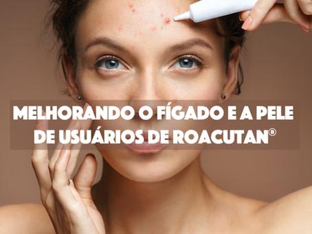 Melhorando o fígado e a pele de usuários de Roacutan