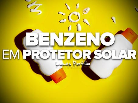 Benzeno, um Composto Carcinogênico encontrado em Fotoprotetores