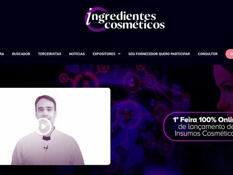 Por que lancei uma Feira Virtual de Ingredientes Cosméticos?