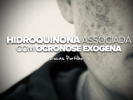 Hidroquinona causa ocronose exógena?