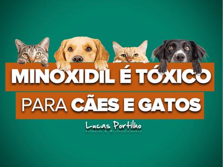 Minoxidil é Tóxico para Cães e Gatos