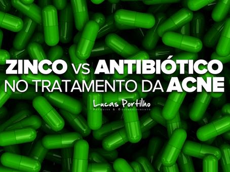 Zinco vs Antibióticoterapia no Tratamento da Acne