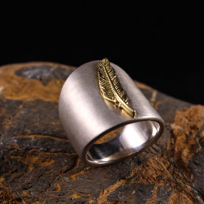 Nature Ring - Feather