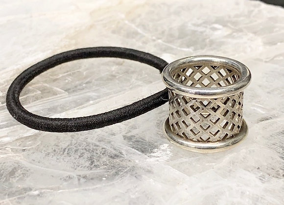 Hair Band Lattice Ring