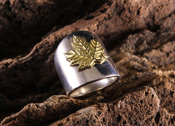 Wholesale Nature Leaf Ring