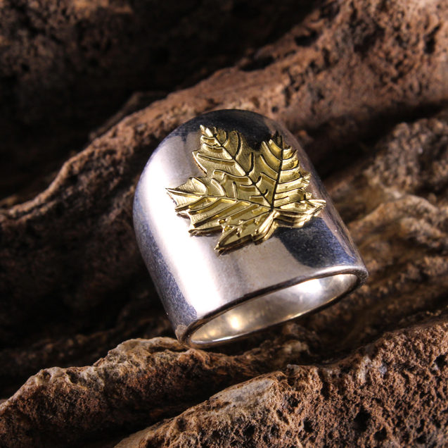 Nature Ring - Leaf