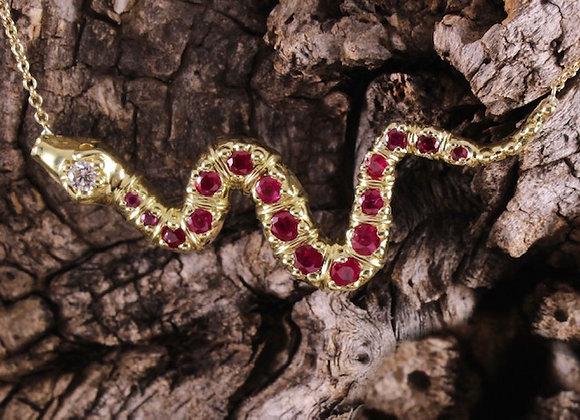 Snake Pendant 18ky