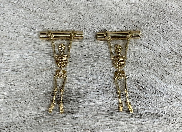 Skeleton Earring 18ky