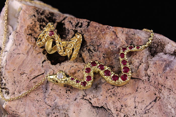 Snake Pendant and Snake Ring SET.jpg