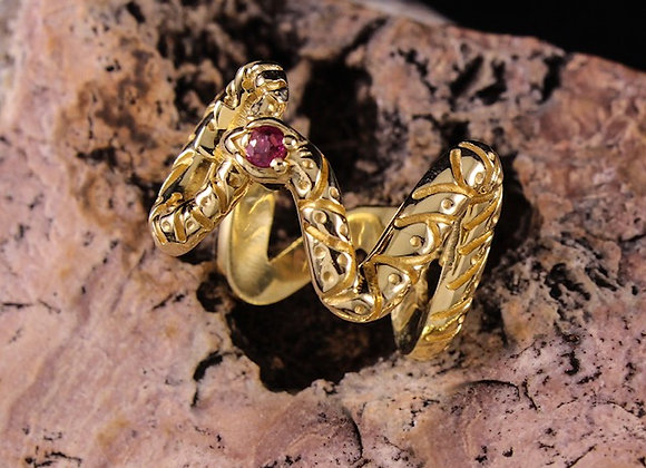 Wholesale Snake Ring 18ky