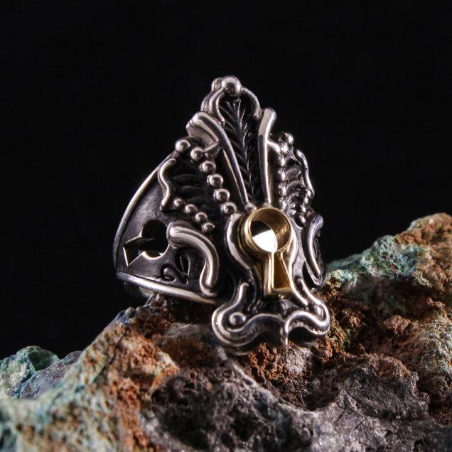 Keyhole Ring
