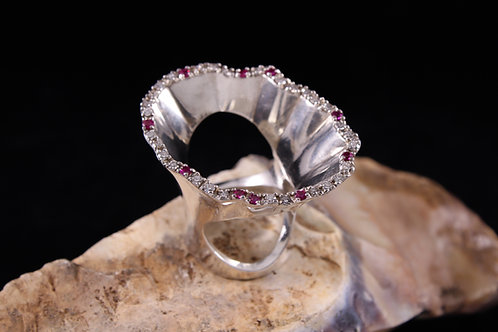 Oval Wave Ring