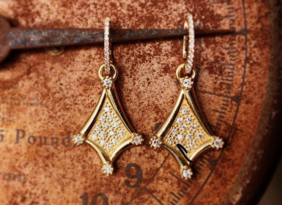 Kite Earrings 18ky