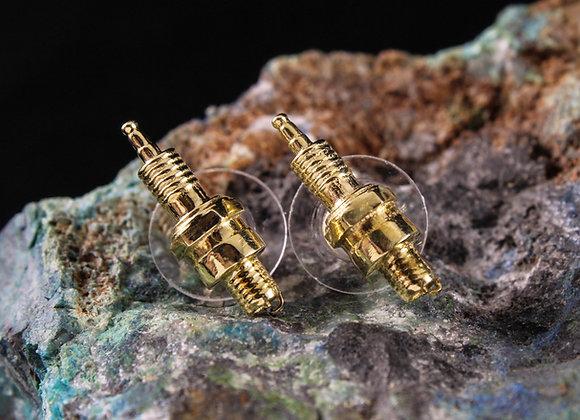 Spark Plug Earrings