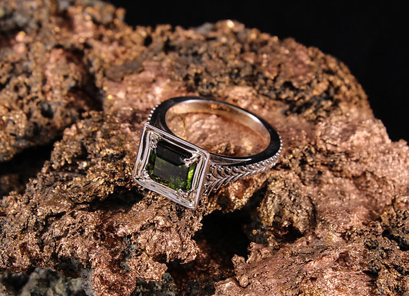 Antique Square Top Ring