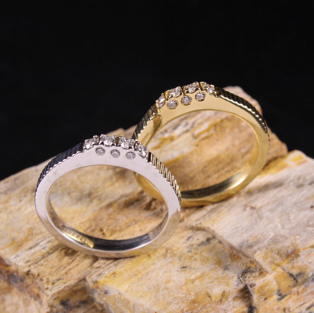 Cathedral Stack Rings
