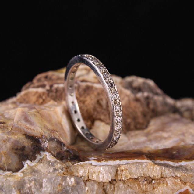 Antique Diamond Stack Ring