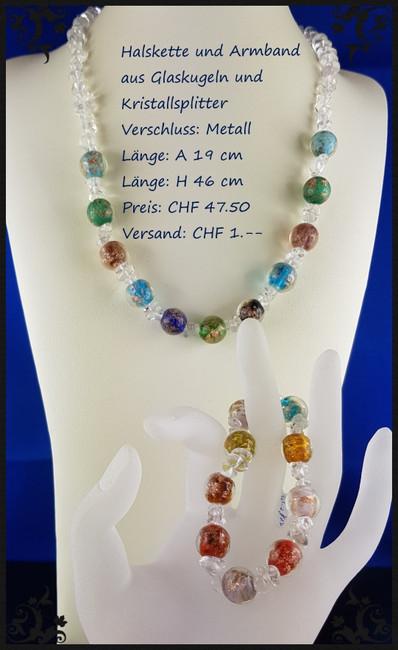Glaskugeln und Kristallsplitter