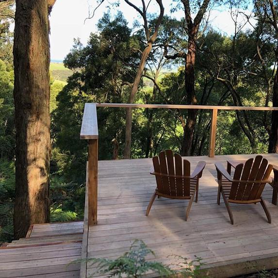 LyttonDC built Australian hardwood deck
