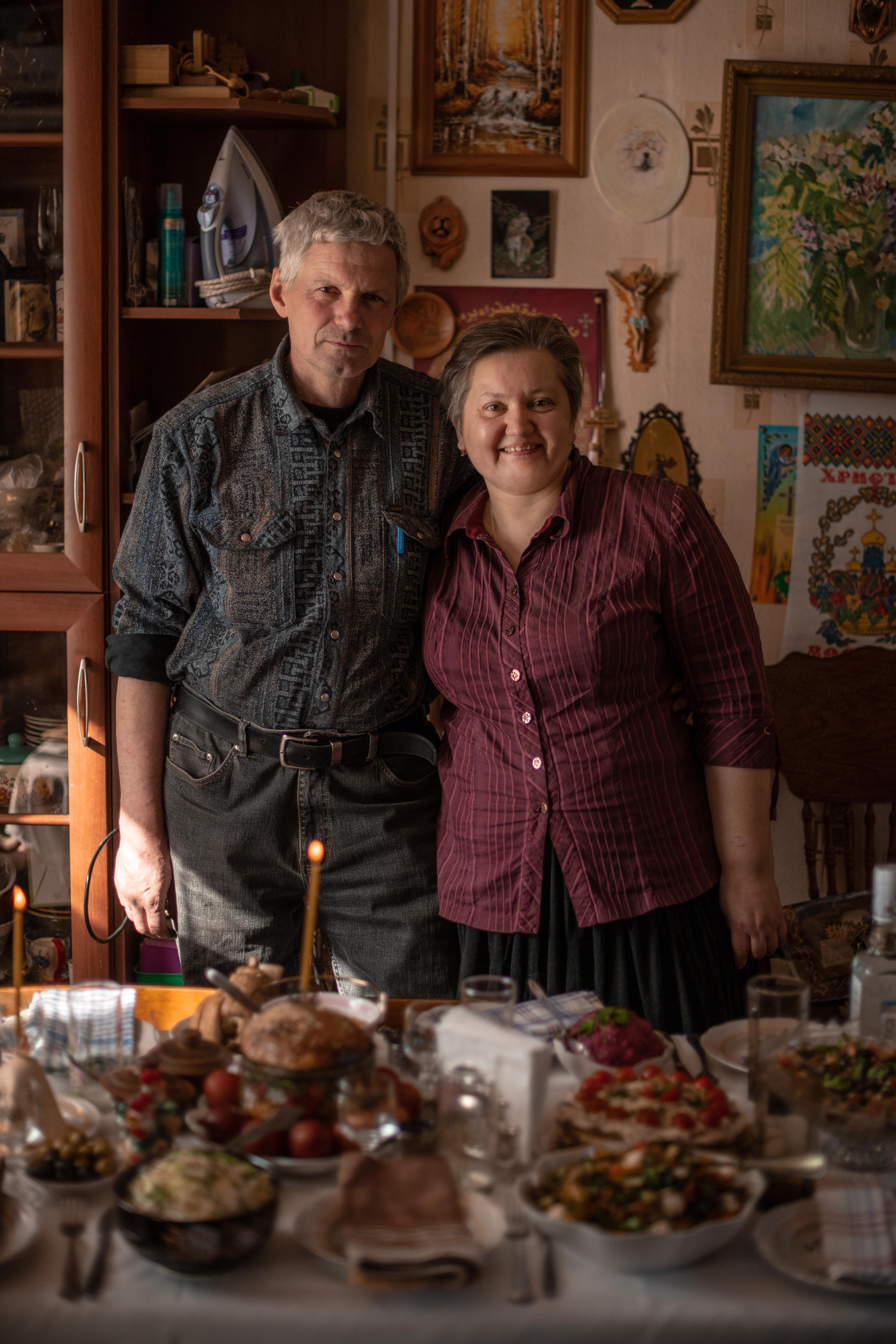 Владимир и Татьяна Захаровы
