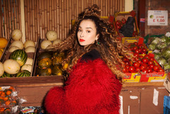 Press images for Ella Eyre. Creative Direction by Daisy Deane. Photography by Elliot Morgan.