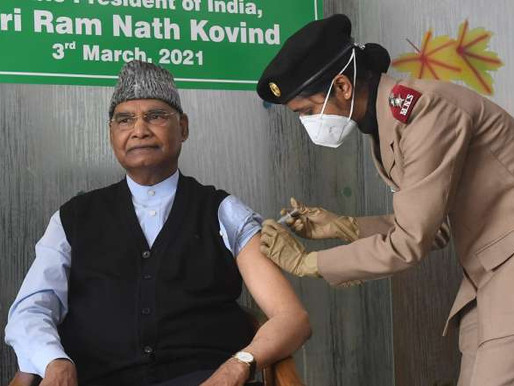 Indian Vaccination Drive