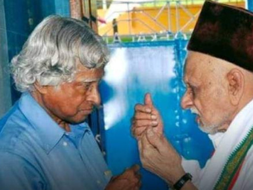 Dr. Abdul Kalam's Elder brother passed away