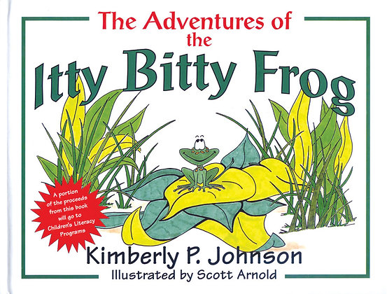 The Adventures of the Itty Bitty Frog