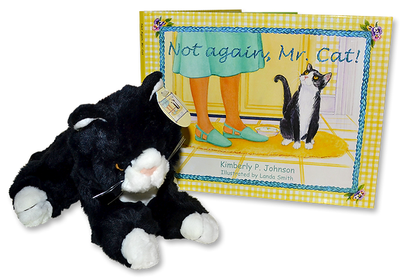 Mr. Cat Book and Plush COMBO