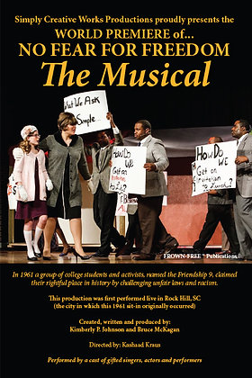 No Fear For Freedom The Musical DVD