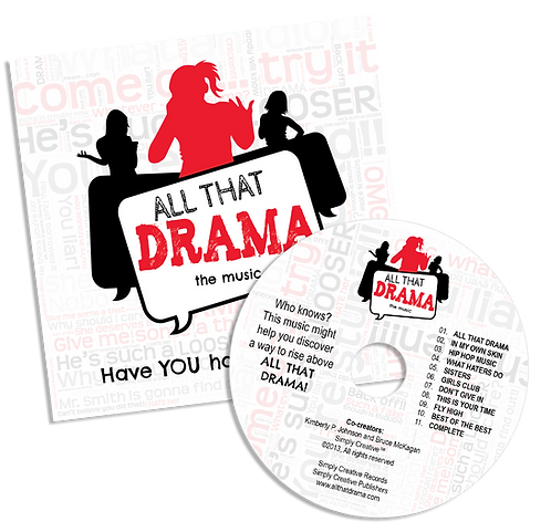 All That Drama the music CD