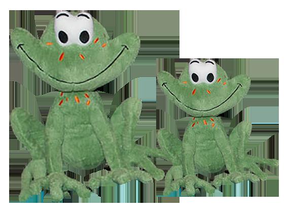Itty Bitty Frog Plush (2 sizes)