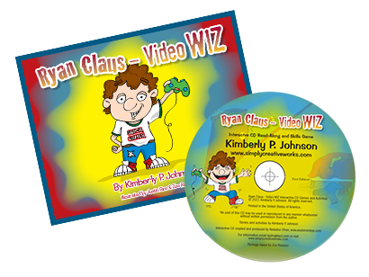 Ryan Claus Book and DVD COMBO