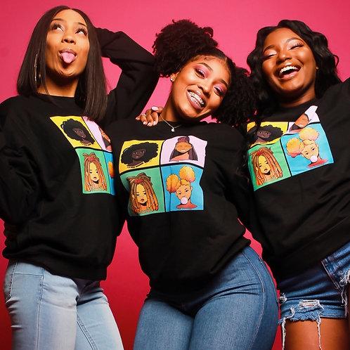 Black Girl SweatShirt