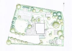 Large Sloping Garden