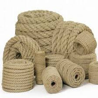 Picture of rope and string made from Hemp