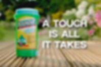 Roundup gel with a saying: A Touch is All it Takes