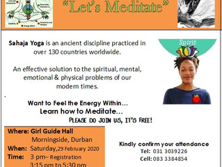 Let's Meditate - Sahaja Yoga Meditation