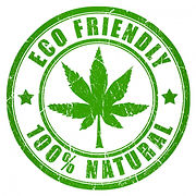 Logo: *Eco Friendly * 100% Natural*