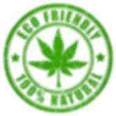 Hemp logo: *Eco Friendly*100% Natural*