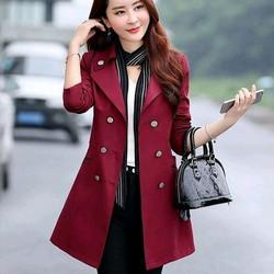 Women Trench Coat  Sleeves: Full Sleeves
